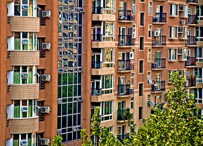 Apartment Building Beijing ©Lewis Sandler Beijing Video Studio 2010