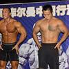Chinese Body Builders Hosa Fitness Center Beijing July 19,2012 ©Lewis Sandler