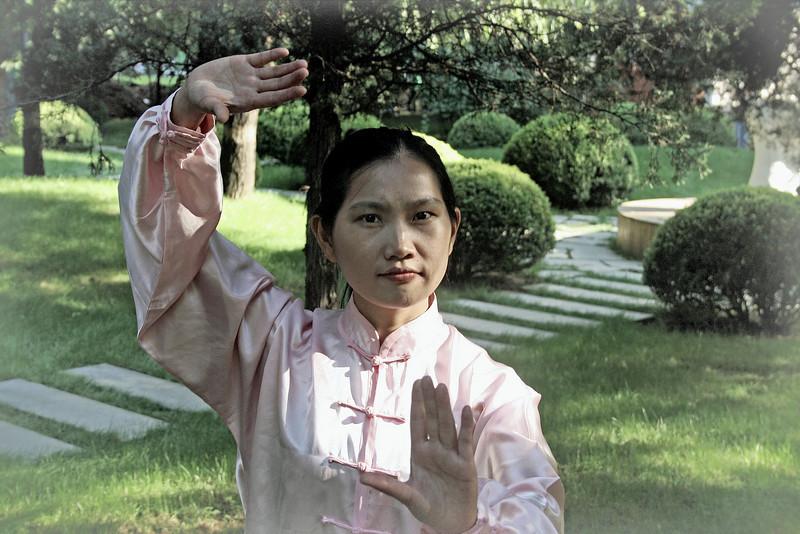 Tai Chi Nora, Beijing 2009 ©Lewis Sandler Beijing Video Studio