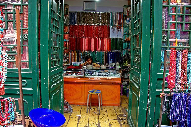 PanjiaYuan Market Shop Beijing ©Lewis Sandler Beijing Video Studio 2010