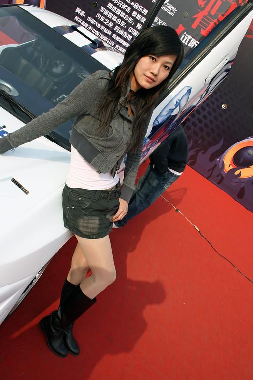 Beijing International Car Show 2008 © Lewis Sandler Beijing Video Studio