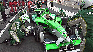 A1 Race Team Ireland in Beijing 2007. ©Lewis Sandler Beijing Video Studio