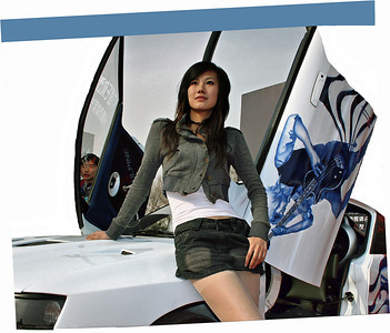 Beijing Car Model ©Lewis Sandler Beijing Video Studio