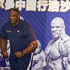 American Olympian Champion Ronnie Colman in Hosa Fitness Center Beijing July 19,2012 ©Lewis Sandler