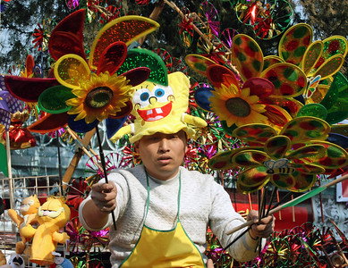 Ditan Park Fair Beijing Park Chinese New Year of the Bull 2009 © Lewis Sandler Beijing Video Studio