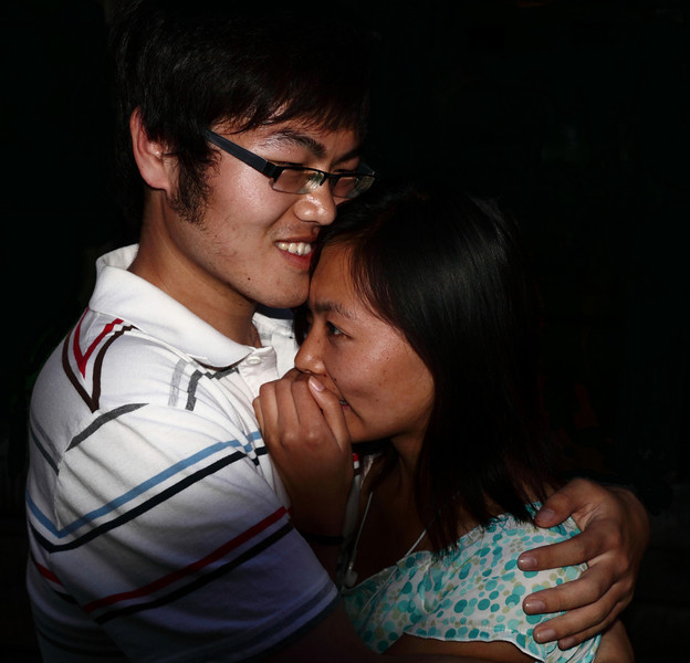 Young Lovers ,Beijing. 2010 © Lewis Sandler Beijing Video Studio