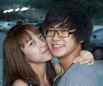 Teen Love Beijing ©  Lewis Sandler Beijing Video Studio