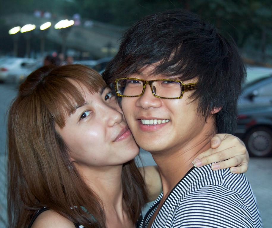 Teen Love Beijing ©  Lewis Sandler Beijing Video Studio