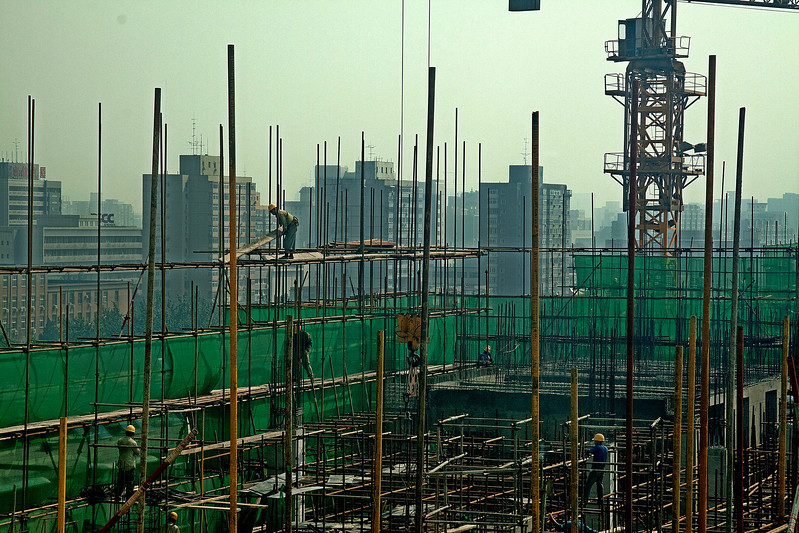Under Construction Beijing Aug/10 ©Lewis Sandler Beijing Video Studio