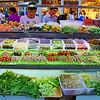 Outdoor food market, Beijing summer 2009. © Lewis Sandler Beijing Video Studio