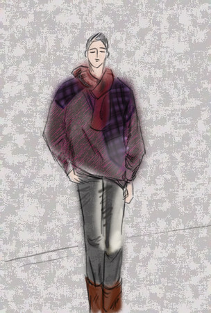 Fashion show. male model. (create by bloody vivi)<br /> T台秀。男模。血小薇设计