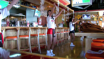 Hooters Beijing December 2009, © Lewis Sandler Beijing Video Studio