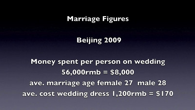 How to Buy a Wedding Dress in Beijing February 2009  WuKeSong Camera city, West Beijing .  © Lewis Sandler Beijing Video Studio