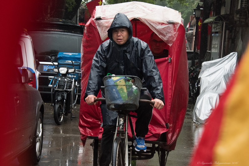 Hutongs in the rain