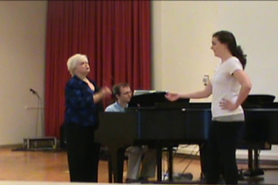 Sharon Christman. Vocal technique. Masterclass. Part I