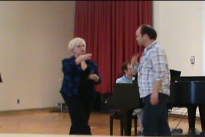Sharon Christman. Vocal technique. Masterclass. Part II