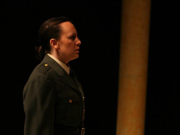 Act I <i>Cara speme</i>, Sesto: Francesca Aguado,  Cornelia: Anamer Castrello,  Cleopatra: Bridgid Eversole,  Nireno: Sean Pflueger.