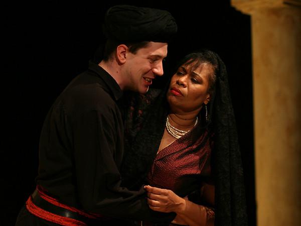 Act I <i> Tu sei il cor</i>, Achilla: Eric Black Duet<i> Son nata a lagrimar</i> Cornelia: Anamer Castrello, Sesto: Tammy Coil