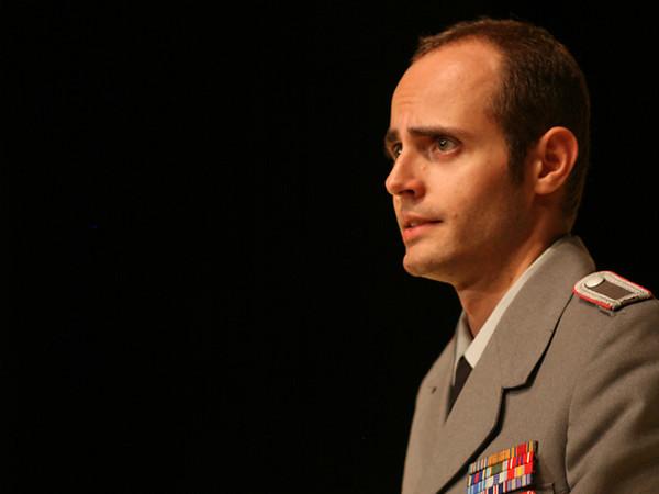 Act I <i>Alma del gran Pompeo</i> Cesare: Nicholas Tamagna