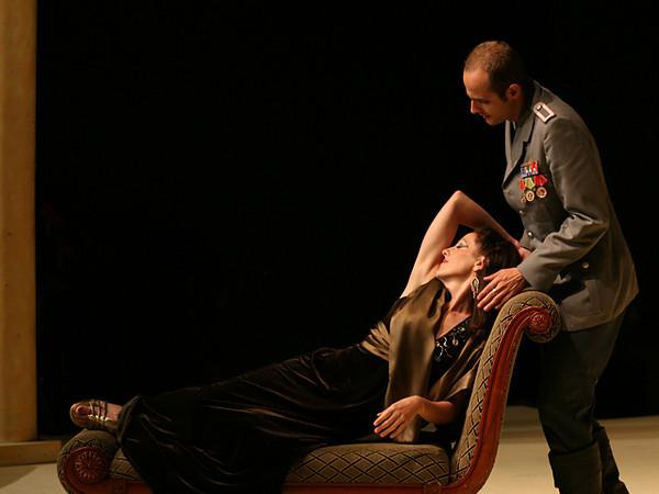 Act II Duet<i> Caro... Bella...</i> Cesare: Nichols Tamagna Cleopatra: Bridgid Eversole