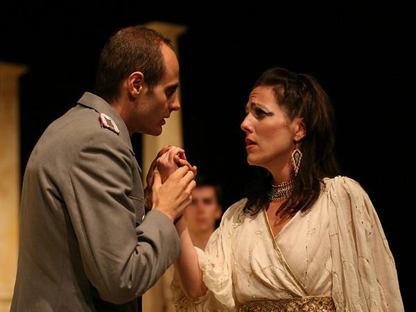 Act I <i> Piangero</i>, Cleopatra: Bridgid Eversole <i> Non e si vago e bello</i>, Cesare: Nicholas Tamagna  Curio: Charles Hyland