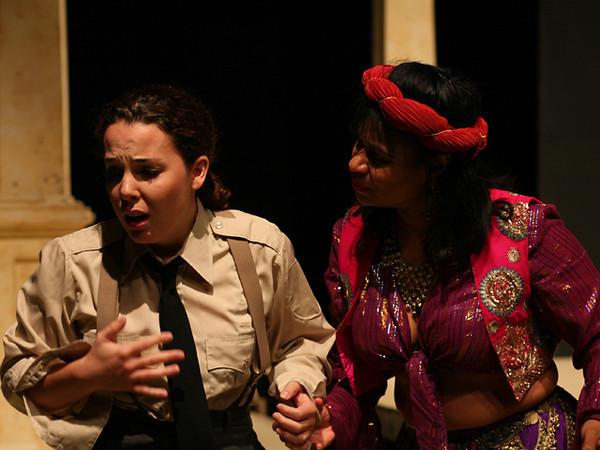Act II <i>Cessa omai di sospirare</i>, Cornelia: Anamer Castrello <i> L'angue offeso</i>, Sesto: Tammy Coil