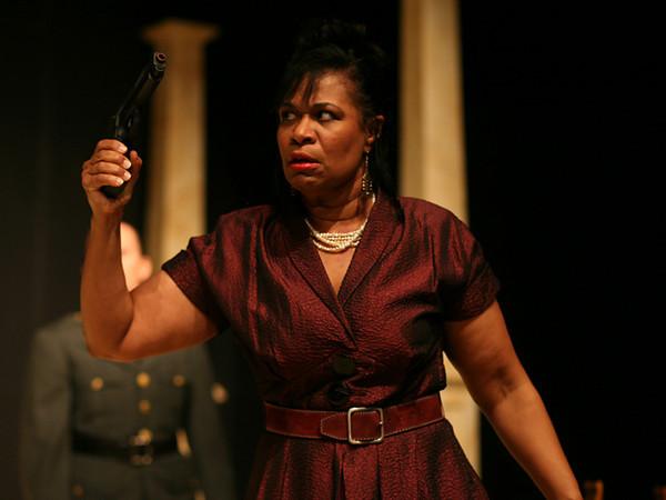 Act I <i>Priva son</i>, Cornelia: Anamer Castrello Sesto: Tammy Coil Curio: Charles Hyland