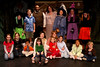 Cast of Hansel and Gretel with the audience. (from left to right second row) Rachel Child, Bryan Jackson, Katerina Souvorova, Kara Morgan, Michelle Rice, Sandra Gust.<br /> (first row) Jessica Renfrom, Meghan Mccall