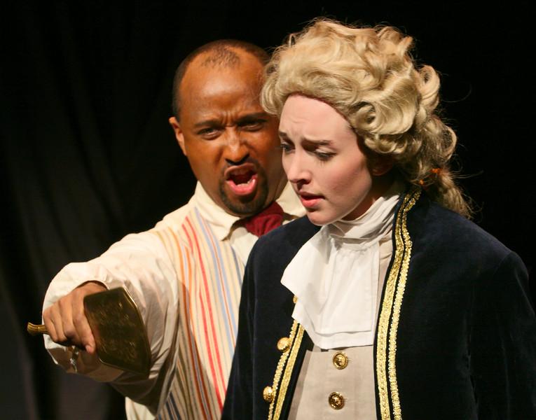 W. A.  Mozart  Le Nozze di Figaro. Bel Cantanti production in December 2006.