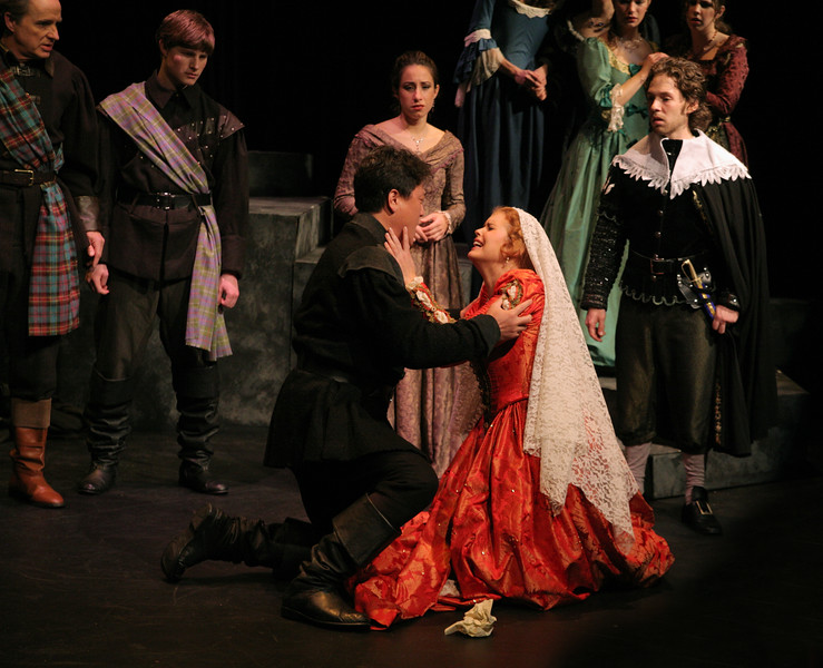 G. Donizetti  Lucia di Lammermoor. Bel Cantanti production in April 2007.