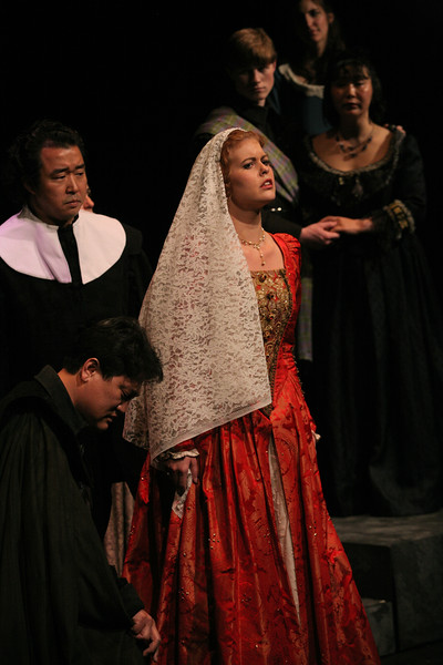 G. Donizetti  Lucia di Lammermoor. Bel Cantanti production in April 2007.