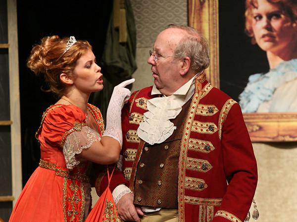 Recitatvo e Duetto  <i> Vediamo: alla modista cento scudi.......Signorina, in tanta fretta... Don Pasquale:</i> Francois Loup, <i>Norina: </i> Meghan McCall.