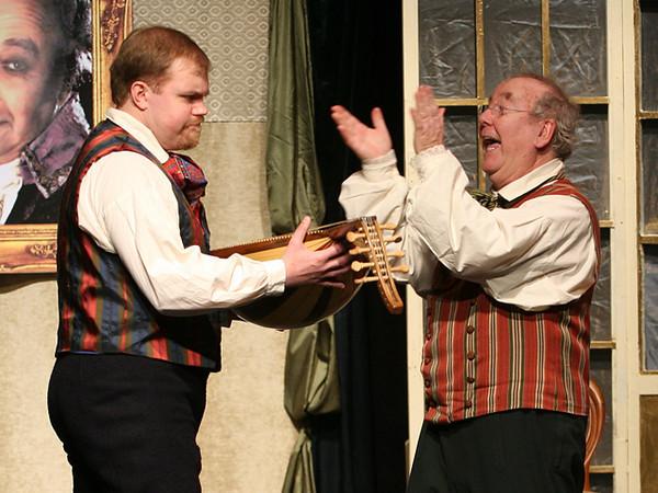 Recitativo e Duetto <i>Son rinato...Prender moglie... Don Pasquale:</i> Francois Loup, <i>Ernesto:</i> Adam Hall.