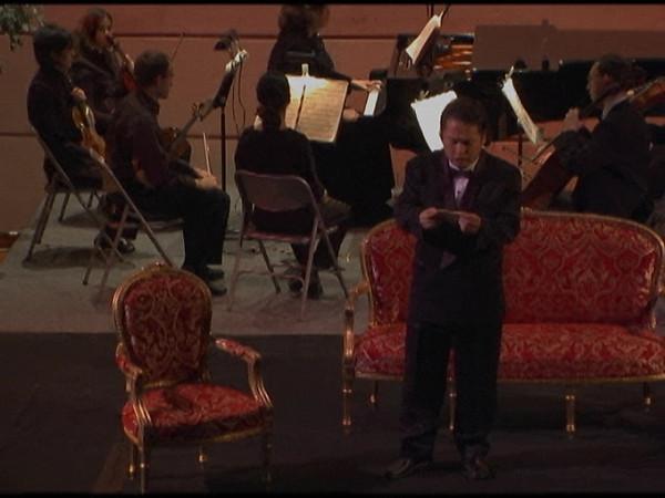 La Traviata, Part 9 Act II  <i>Di Violetta! Perche son io commosso! Di Provenza il mar, il suol...  Alfredo:</i> Young Suek Shim, <i>Giorgio Germount: </i>  Jerret Gieseler.