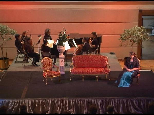 La Traviata, Part 2 Act I  Violetta's aria Act I <i>E strano...Ah, forse lui... Sempre Libera  Violetta,</i> Amy Call