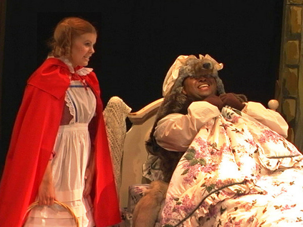 "Seymour Barab <i> Little Red Riding Hood""</i>  <i>Little Red Riding Hood:</i> Meghan, <i>Mother/Grandmother: </i>Jessica Renfro,<i> Wolf/Woodsman:</i> Bryan Jackson."
