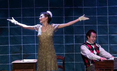 Der Schauspieldirektor & Monsieur Choufleuri restera chez lui le...