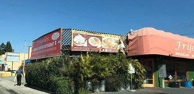 "I stopped off at my favorite Mexican restaurant near LAX for a ""last lunch""."