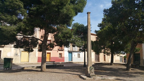 This is the village square outside the Arched entrance..we found this a very peaceful place to sit.