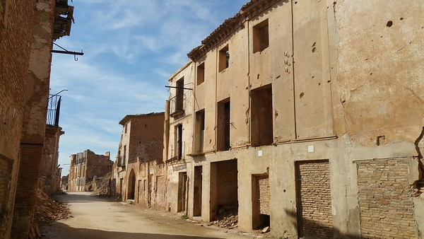 Belchite Ghost Town Spain 2017