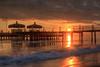 Sunset at Beach, Belek, Turkey on  6. 12. 2013. Foto: Gerald Fischer