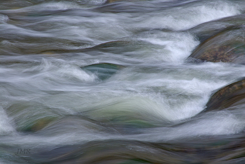painterly waters, Forks of the Credit river