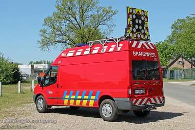 M51 Materiaalwagen Ford Transit 140T350 4x4, 2011  Voertuig omstreeks 2017 omgebouwd naar signalisatiewagen / materiaalwagen.