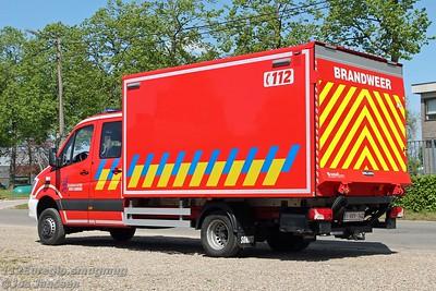 L52 Transportvoertuig Mercedes Sprinter 519CDi NVC3.1 4x4 Somati, 2015  Afkomstig van post Maasmechelen. Ten behoeve van logistieke werkzaamheden.