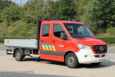L12 Karweiwagen Mercedes-Benz Sprinter 314CDi eigenbouw, 2020  Callsign wijziging L15 > L12