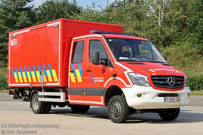L11 Lichte vrachtwagen logistiek Mercedes Sprinter Somati, 2015  Afkomstig van post Maaseik.