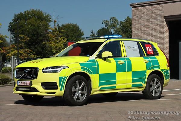 Kenteken: 2-AJQ-838<br /> Merk: Volvo XC90 4x4<br /> Opbouw: AB Technics<br /> Bouwjaar: 2021 / In dienst: 08-2021