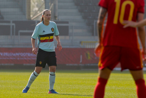2017-04-08 - Eupen - Interland - Belgium Red Flames - Spain - Jassina Blom (Belgium)