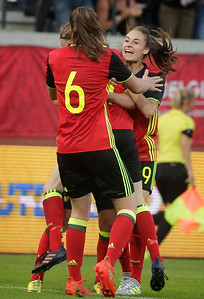 Belgian Red Flames v Japan - Friendly