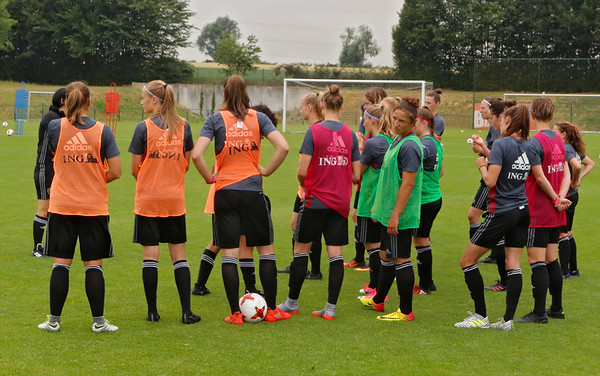 training Belgian Red Flames